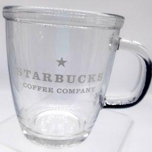 Starbucks Clear coffee , tea   Mug Etched ☕